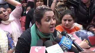 Indian Youth Congress Protest Against LPG Price Hike