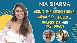 Nia Sharma on fighting with Ravi Dubey to being BFFs, bikini, censorship on OTT, trolls | Jamai 2.0