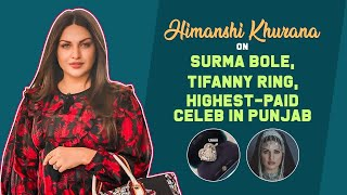 Himanshi Khurana finally reveals if she's engaged to Asim Riaz, talks about being the HIGHEST PAID