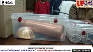 पुलिस ने नामी पहलवान समेत चार चोरों को लाखों के चोरी के आभूषण के साथ किया गिरफ्तार