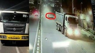 Sadak Hadse Mein Hui 1 Naujawan Ki Mout 2 Shaks Hue Zakhmi | Madhapur | CCTV Footage |@Sach News