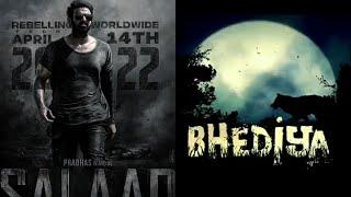 Salaar Vs Bhediya Movie Clash At Box Office In April 14, 2022, Prabhas Vs Varun Dhawan Films Clash