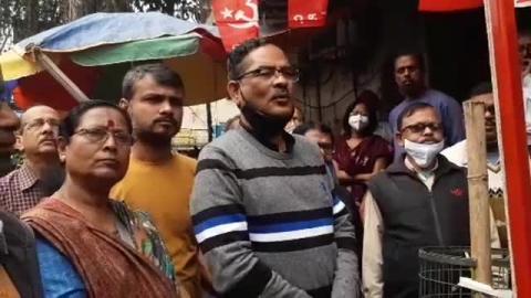 হায়দার পাড়া 39 নম্বর ওয়ার্ডে নির্বাচনী কার্যালয় উদ্বোধন