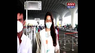 Juhi Chawla Spotted At Airport