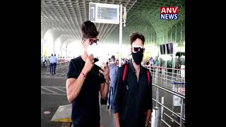 Singer Shaan Spotted Airport