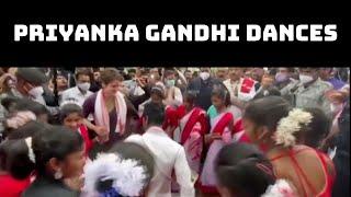 Priyanka Gandhi Dances With Tea Tribes In Assam | Catch News