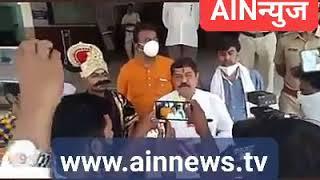 #खळ्ळखट्याक : कोरोनावरुन महाराष्ट्रा नवनिर्माण सेना जिल्हाप्रमुख सुहास दाशरथींचा महानगरपालीकेत राड