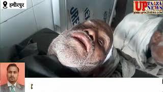 नलकूप में सो रहे वृद्ध के साथ हुई लूट की घटना,लुटेरो ने वृद्ध को किया मरणासन्न