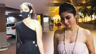 Mouni Roy And Akansha Singh Spotted At Airport Arrival