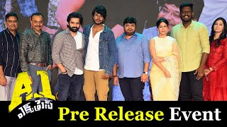 A1 Express Pre Release Event Highlights | Sundeep Kishan | Lavanya Tripathi | Ram Pothineni