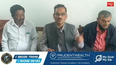 Press Meet: Dilip Singh (District Secretariat Member of CPIM Darjeeling Committee )