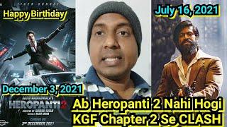 Ab Heropanti 2 Nahi Hogi KGF Chapter 2 Se CLASH, Tiger Shroff Avoided The Clash With Yash's KGF 2