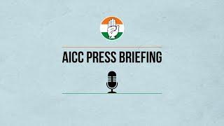 LIVE: Congress Party Briefing by Dr Abhishek M Singhvi and  Okram Ibobi Singh