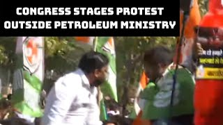 Fuel Price Hike: Youth Congress Stages Protest Outside Petroleum Ministry | Catch News