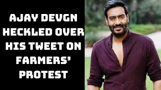 Ajay Devgn Heckled Over His Tweet On Farmers' Protest | Catch News
