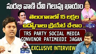 TRS Party Social Media Convenor Patimeedi Jagan Interview | MLC Elections |#BSTalkShow|Top Telugu TV
