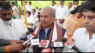 BJP MP Nand Kumar Singh Chauhan cremated, Narendra Singh Tomar  Department of Agricultural @Tez News