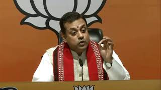 Byte by BJP National Spokesperson Dr. Sambit Patra at BJP HQ, New Delhi.