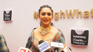 #WeighWhatMatters Par Boli Divyanka Tripathi | Power Women Fiest Event