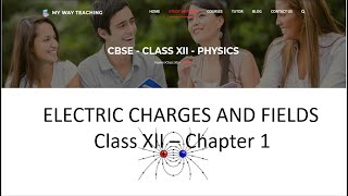Electric Charges And Fields Part 1|Physics Chapter 1|