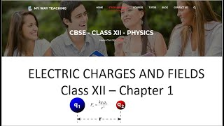Electric Charges And Fields Part 2|Physics Chapter 1|
