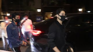 Shahrukh Khan's Son Aryan Khan At Saif Ali Khan's Party | Ibrahim Khan
