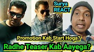 Radhe Ka Promotion Kab Start Hoga? Poster Kab Aayega, Teaser Kab Aayega? Surya Reaction