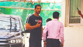 Mumbai Saga: John Abraham Spotted At Sunny Super Sound