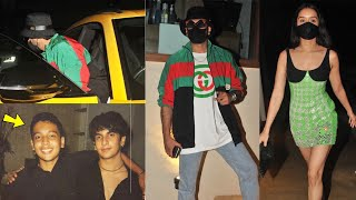 Shraddha Kapoor & Ranveer Singh attends Best Friend Rohan Shrestha's birthday bash