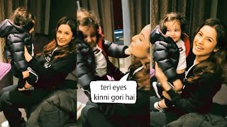 shehnaaz gill Very Cutest Moment With Little Baby Is Just Beautiful