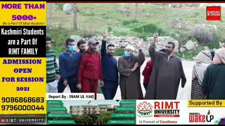 Omni Shambles PDD Bandipora , Locals of Turkpora Bandipora stage protest against department