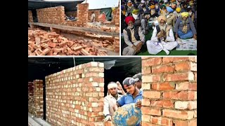 Kisan Stir: Farmers build 'pucca' houses at Singhu border amid ongoing protest
