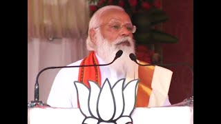 LDF betrayed Kerala for a few pieces of gold like Judas did, says PM Modi in Palakkad