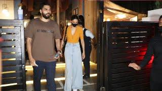 Deepika Padukone With Sister Snapped At Mizu Restaurant Bandra For Dinner