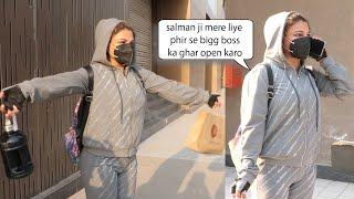 Rakhi Sawant Very Funny Video on street ' Mujhe Vapas Bigg Boss Ke Ghar mai jana Hai '
