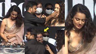 Very Emotional Kangana Ranaut Celebrated Her Birthday With Team Thalaivi | Arvind Swamy