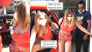 Rakhi Sawant Very Funny  Chat With Media| Patli ho rahi hoon ki nahi? asks Rakhi