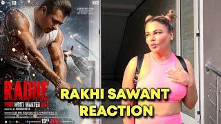 Salman Khan Ke RADHE Par Boli Rakhi Sawant, Kahi Badi Baat