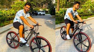 Rahul Vaidya Ne Chalayi Salman Ki Gifted Being Human Bike