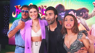 Hello Charlie Trailer launch | Jackie Shroff, Aadar Jain, Shloka Mehta & Elnaaz Noorani Interview