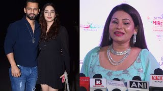 Rahul Aur Disha Par Kya Boli Megha Dhade? | Marathi Mirchi Music Awards 2021