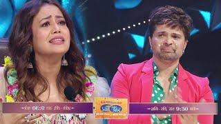 Neha Kakkar और Himesh Reshammiya दोनों के आँखों में आए आंसू, Himesh No.1 | Indian Idol 12