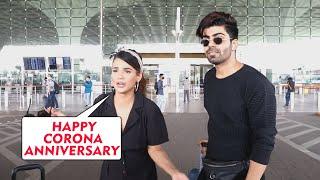 Holi Manane Goa Ke Liye Ravana Hui Naina Singh, Spotted At Airport