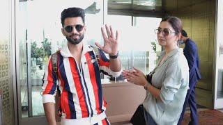 Good News! Rahul Vaidya  Aur Disha Parmar SONG SHOOT Ke Liye Nikle, Airport Par Hue Spot