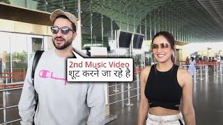Aly Aur Jasmin Apna 2nd MUSIC VIDEO Shoot Karne Hue Ravana, Spotted At Airport