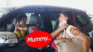 Mom Mahhi Vij Ko Jaate Dekh Ro Padi Beti Tara   Jay Bhanushali   Spotted Video