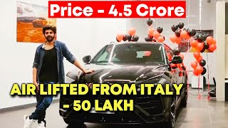 Kartik Aaryan Gets 4.5 Cr Lamborghini Airlifted From Italy, Paid 50 Lakh Extra