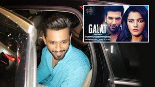 Rahul Vaidya And Disha Parmar Spotted At Mc Donalds, Reaction On Rubina-Paras Galat Song