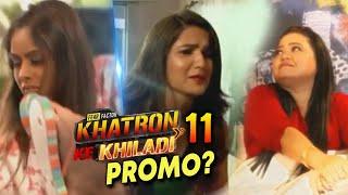 Khatron Ke Khiladi 11 PROMO Out? | Nia Sharma Aur Jasmin Bani Bharti Singh Ki Naukar | Rohit Shetty