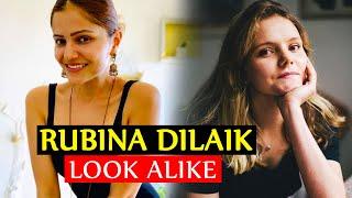 मिलिए Rubina Dilaik के DUPLICATE से, जो है एक Foreigner, Rubina Dilaik Doppelganger
